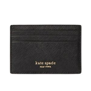 Kate Spade Black Cameron Slim Card Holder